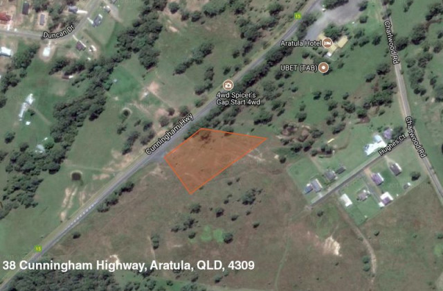 Lot 38 & 39 Cunningham Highway, ARATULA QLD, 4309