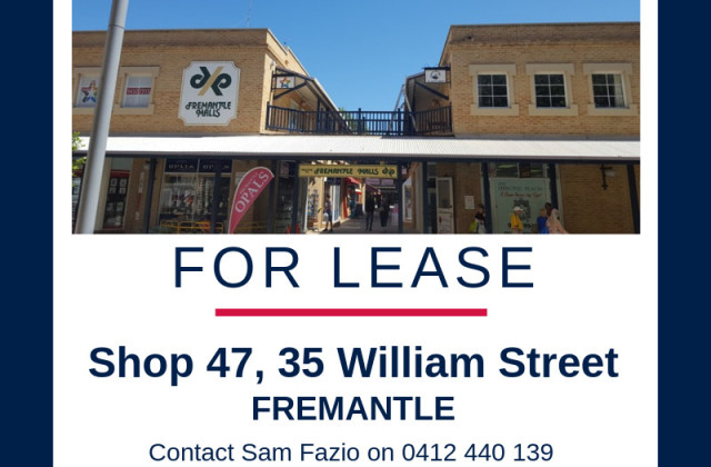 Shop 47/35 William St, FREMANTLE WA, 6160