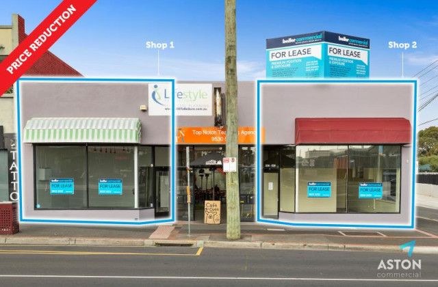 Shop 1 or 2, 556-558 North Road, ORMOND VIC, 3204