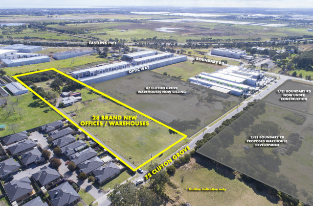 Lot 24/75 Clifton Grove, CARRUM DOWNS VIC, 3201