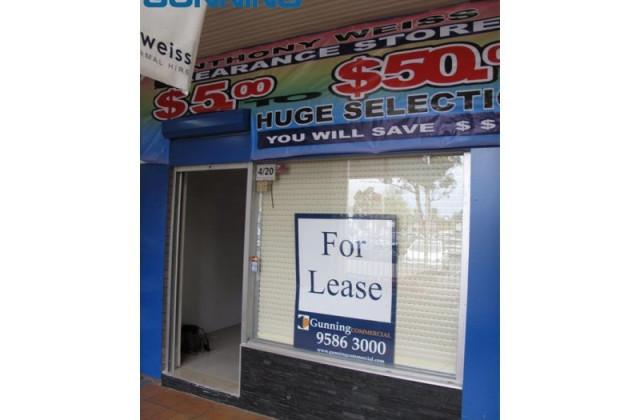 Shop 4/20 McFarlane Street, MERRYLANDS NSW, 2160