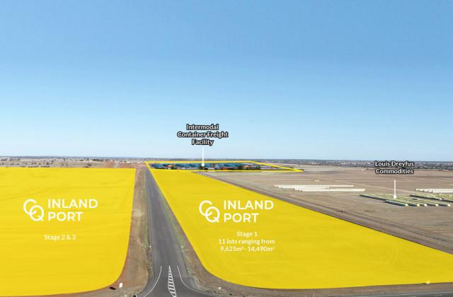 CQ INLAND PORT Port Drive Bonnie Doon Road, EMERALD QLD, 4720